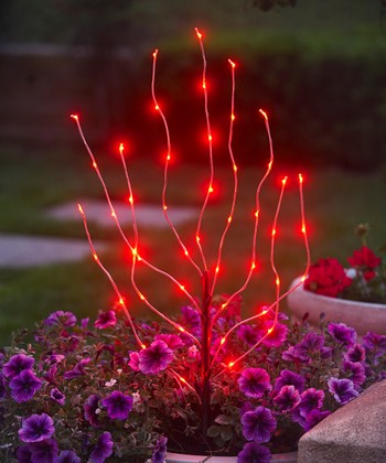 Exhart Red Branch Light