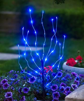 Exhart Blue Branch Light