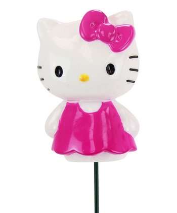 Pink Hello Kitty Garden Stake