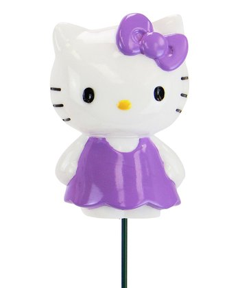 Purple Hello Kitty Garden Stake
