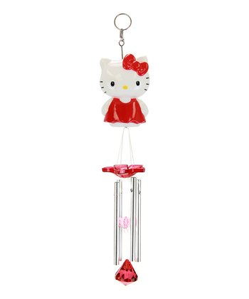 Red Hello Kitty Wind Chimes