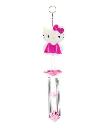 Pink Hello Kitty Wind Chimes