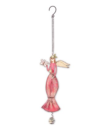Pink Butterfly Fairy Ornament