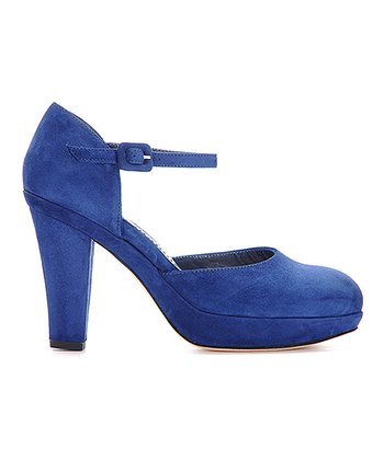 Blue Giselle Pump