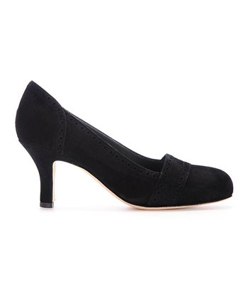 Black Chantale Pump