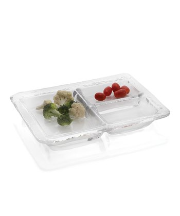 Three-Compartment Tray