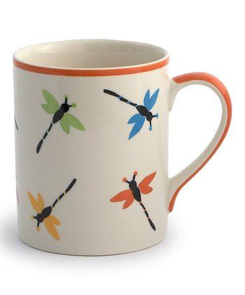 Dragonflies Mug - Set of Four