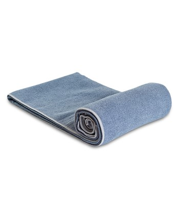 Charcoal & Ash Yoga Towel