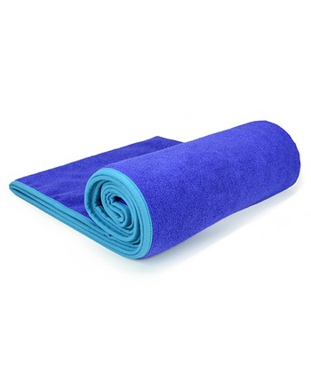 Indigo & Turquiose Hot Yoga Towel