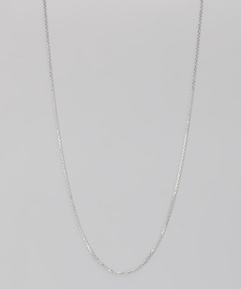 Sterling Silver 0.5-mm Diamond Cut Cable Chain