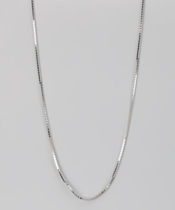 Sterling Silver 1.2-mm Zigzag Chain
