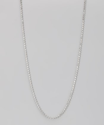 Sterling 2-mm Moon Cut Chain