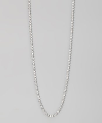 Sterling 3-mm Moon Cut Chain