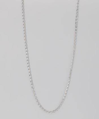 Sterling Silver 2-mm Open Heart Chain