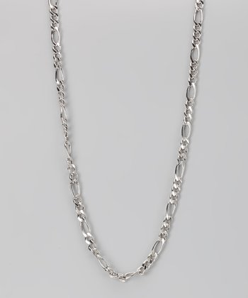 Sterling Silver 5-mm Figaro Chain