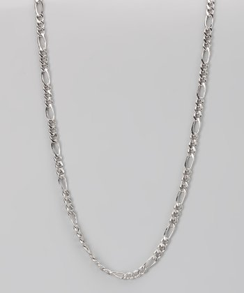 Sterling Silver 4-mm Figaro Chain