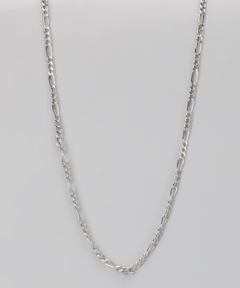 Sterling Silver 3-mm Figaro Chain