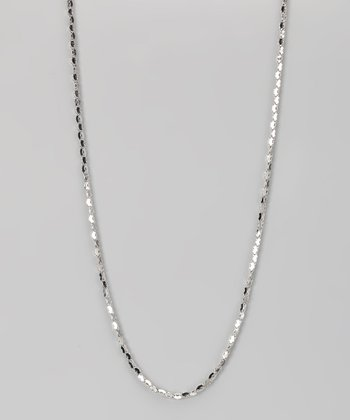 Sterling Silver 2-mm Long Link Hollow Popcorn Chain