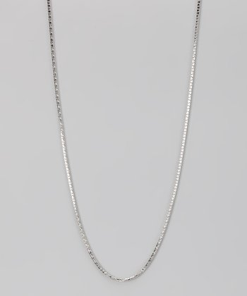 Sterling Silver 1.8-mm Round Wheat Chain