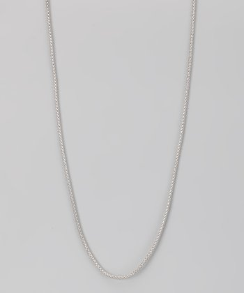 Sterling Silver 2-mm Tight Popcorn Chain
