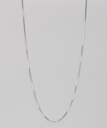 Sterling Silver 1.1-mm Box Chain