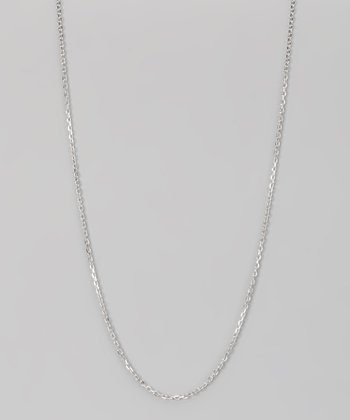 Sterling Silver 1.5-mm Diamond Cut Cable Chain