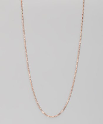 Rose Gold & Sterling Silver 1.5-mm Diamond Cut Cable Chain