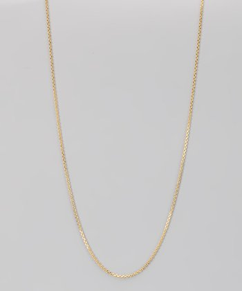 Yellow Gold & Sterling Silver 1.2-mm Diamond Cut Cable Chain