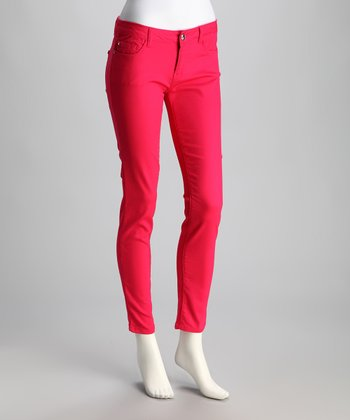 Strawberry Leon Skinny Jeans