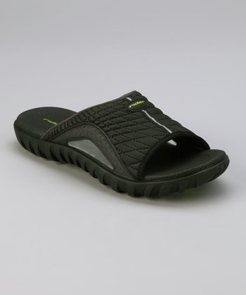 Black Relay IV Slide - Men