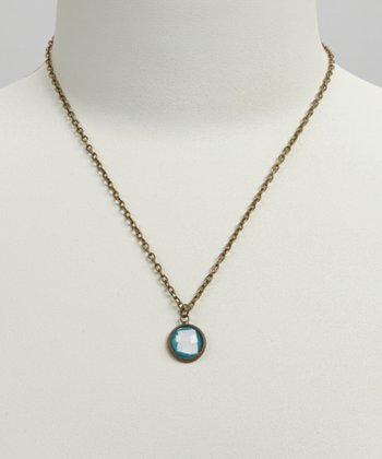 Turquoise & White Arizona Pendant Necklace