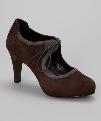 Brown & Charcoal Lucia Pump