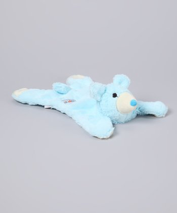 Blue Bear Plush Dog Toy