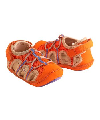 Orange & Gray Patrick Shoe