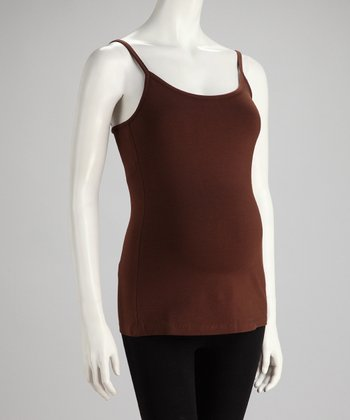 Chocolate Maternity Camisole