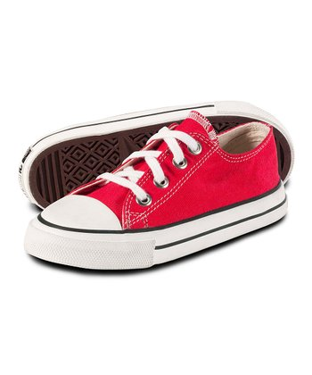 Fire Engine Red Sneakers