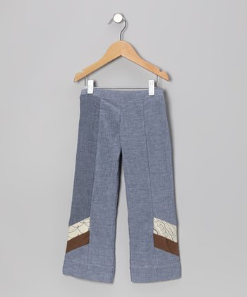 Denim Chambray Cove Surf Trouser Pants - Kids