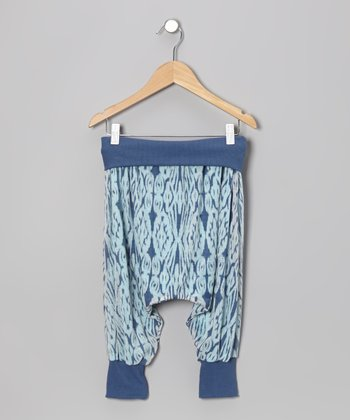 Indigo Ikat Sullivans Island Harem Pants - Infant, Toddler & Kids