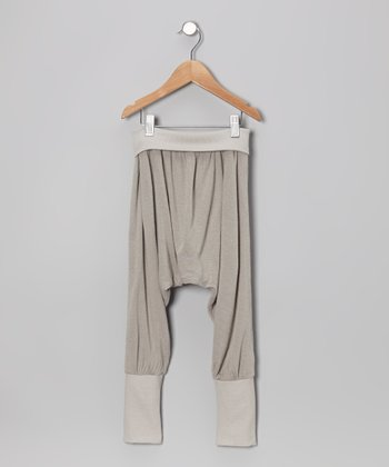 Silver Sullivans Island Harem Pants - Infant, Toddler & Kids