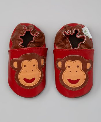 Red Monkey Booties