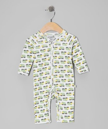 Green Truck Playsuit