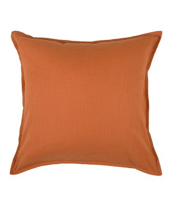 Orange Sleek Pillow