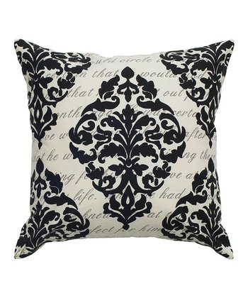 Damask Ivory Pillow Cover - Set of Two