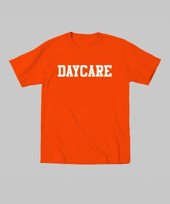 Orange 'Daycare' Tee - Toddler & Kids