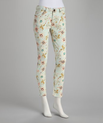 Light Blue Wallflowers Cropped Pants