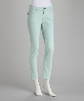 Mint Cropped Pants