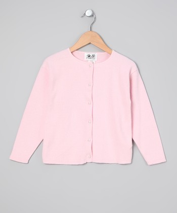 Pink Cardigan - Girls