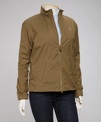 Khaki Green Heritage Jacket - Women & Plus