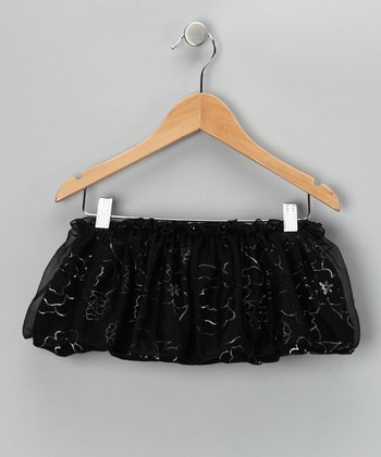 Black Soot Enchanted Skirt - Girls