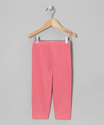 Pink Leggings - Toddler & Girls